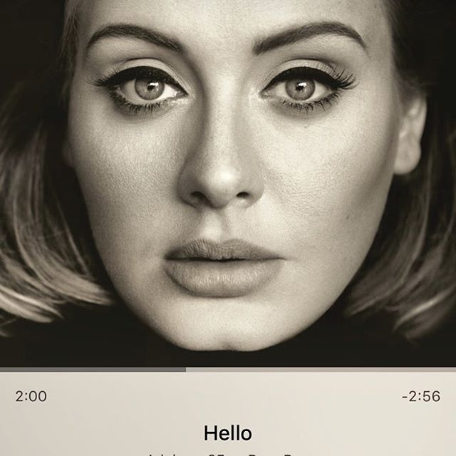 Heard Adele's new song for the first time today. OMG that voice! ️️️ #shesamazing #IChooseBeauty Day 705