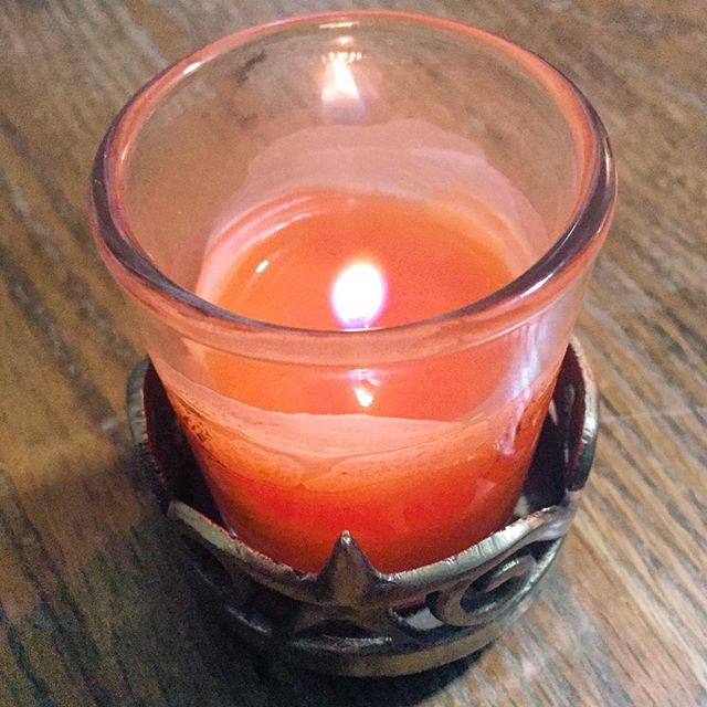 Rainy days are perfect for pretty scented candles. #IChooseBeauty Day 765