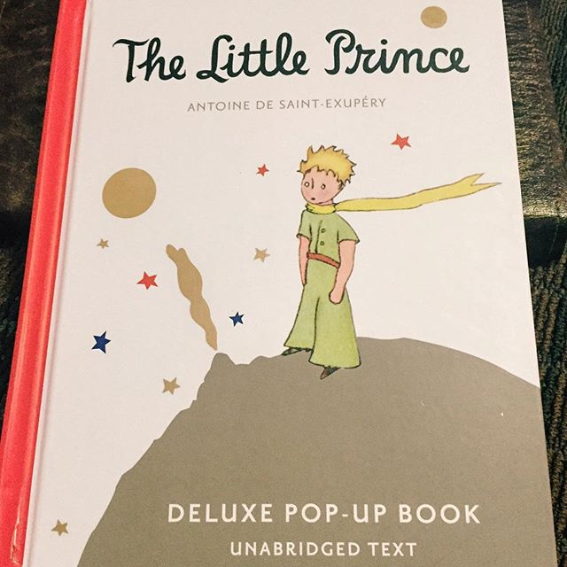 Today's #IChooseBeauty Photo Challenge - books. This has been my favorite book since I was a teenager. I love it so much I bought the pop-up version last year. Great message about life. ️ #thelittleprince #IChooseBeauty Day 793