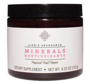 Minerals & Antioxidants