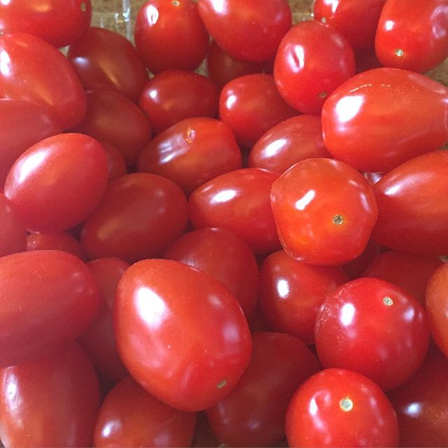 I've been inhaling these grape tomatoes all week! Can't get enough. #sooogood #IChooseBeauty Day 897