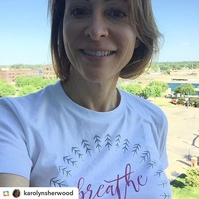 Check out this beauty in her new #IChooseBeauty tee! Thanks for the support @karolynsherwood ️ 5% of proceeds go to Mental Health America. Link in bio.