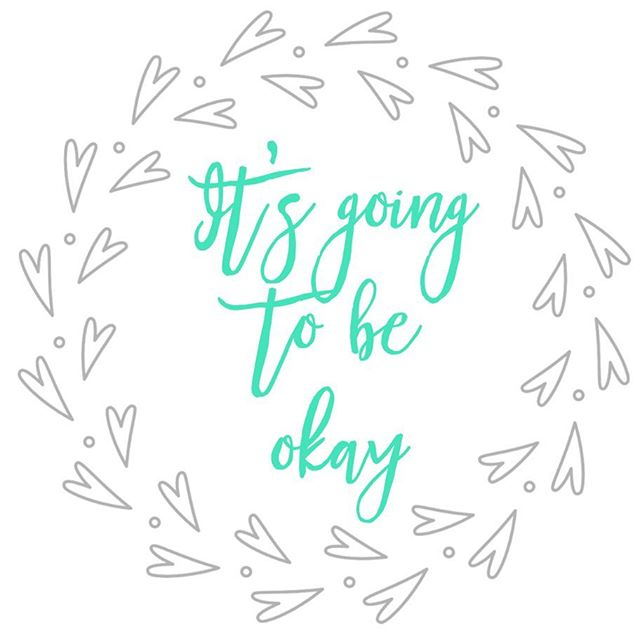 """Introducing """"It's going to be okay"""" - A new design coming soon to the Notes to Self Collection; inspired by coping statements I learned during therapy for severe depression.Sometimes very basic words are all you need to make it through the day. When I'm struggling, I repeat to myself, """"It's going to be okay"""" over and over. Say it even if you don't believe it. It will help you get through the tough times until things really ARE okay. For every purchase from the Notes to Self collection, I Choose Beauty will donate 5% of the proceeds to Mental Health America. Stay tuned for details on the new designs! #mentalhealthawareness #IChooseBeauty"""