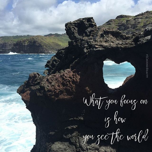What you focus on is how you see the world