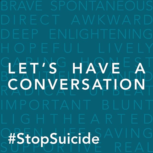 Sign the @afspnational pledge to #StopSuicide - in honor of National Suicide Prevention Week. Sometimes it's hard for people to ask for help when they need it - it was definitely hard for me. Pledge to be there when someone needs to talk: bit.ly/TalkPledge #IChooseBeautyDay 1021