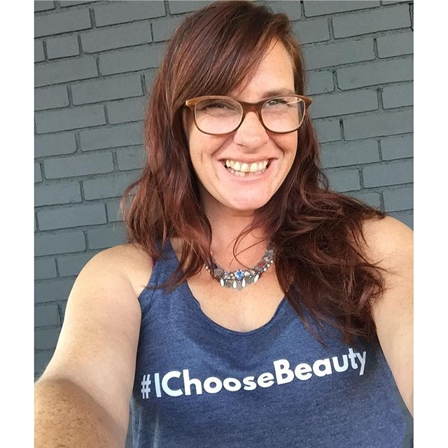 YOUR PICK: Say hello to @katemorgankmid - looking lovely in her #IChooseBeauty tank. Thanks for sending the pic, Kitty! Tank is from my Notes to Self collection - designed to lift your spirits and bring you strength, comfort and light. 5% of net proceeds goes to @mentalhealthamerica Link in bio ️