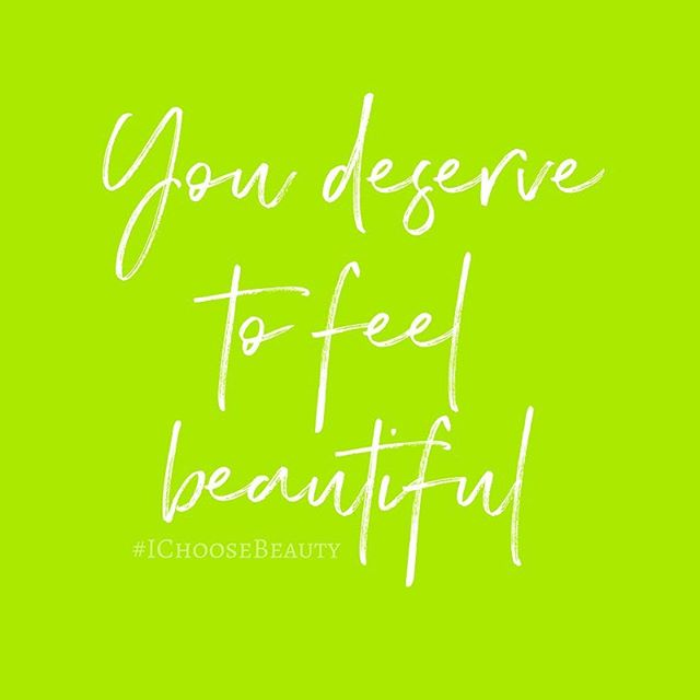 You deserve to feel beautiful, no matter what you're going through. When I had my fifth surgery for endometriosis a few years ago, I was extremely anxious about it and was sick of my body failing me. The procedure somehow triggered a horrible skin disease, lichen planus, all over my arms, legs, and torso. It itched and scabbed like crazy for 18 long months. I felt hideous and self conscious. I wore long sleeves whenever I could (even in the spring and summer) and couldn't stand to look at myself in the mirror. Through lots of therapy and so much hard work, I learned that I could still somehow feel beautiful. And so can you. #MondayMotivation #IChooseBeauty