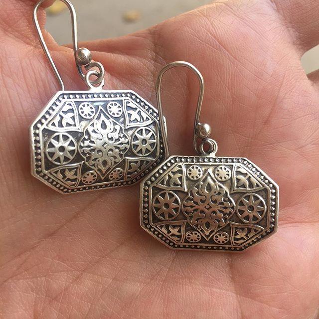 My favorite earrings from Egypt. I instantly feel good when I wear them. #IChooseBeauty Day 1222