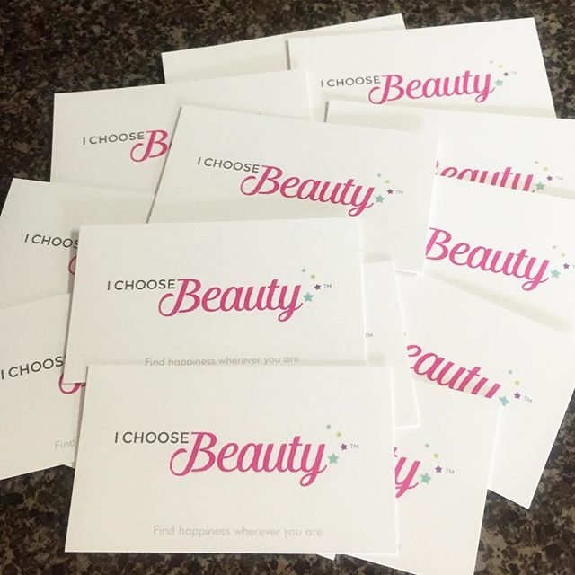 I love getting new business cards. #officesupplyjunkie #IChooseBeauty Day 1266