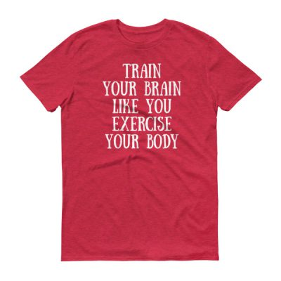 Train your brain – Adult/Unisex Tee (Colors)