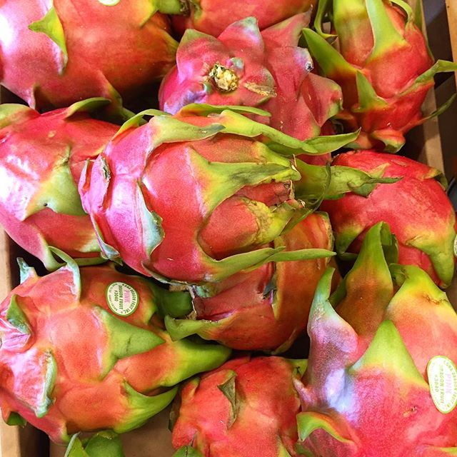 Dragon fruit! Who's had it before? I have yet to try it, but love how pretty it is. #IChooseBeauty Day 1315