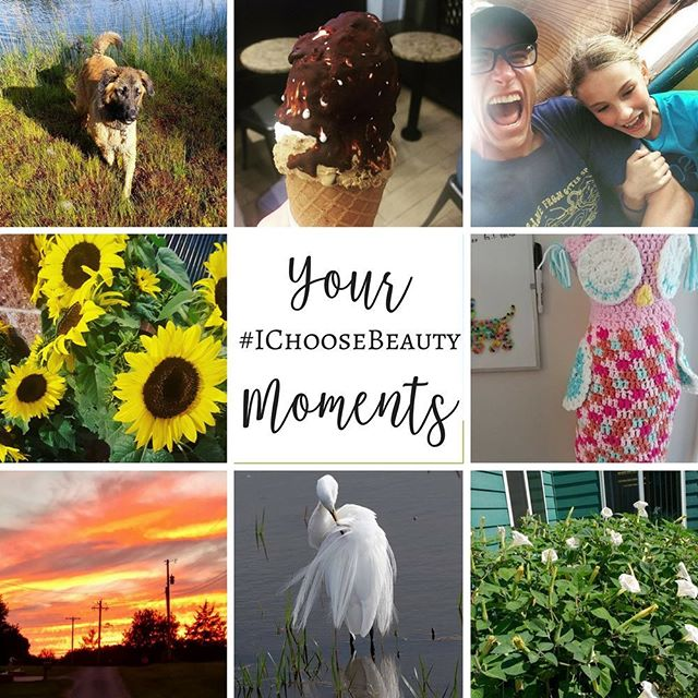 I love seeing YOUR #IChooseBeauty moments every single day! Thanks so much for sharing them! Here are just a few of your pics from the past week or so. #somuchbeauty