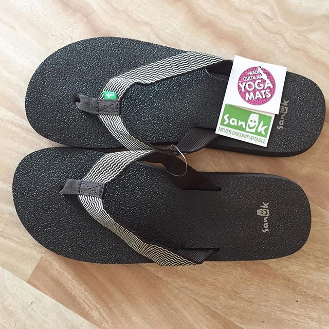 Can't wait to slip my feet into these @sanuk yoga mat sandals. #myfavorites #IChooseBeauty Day 1397