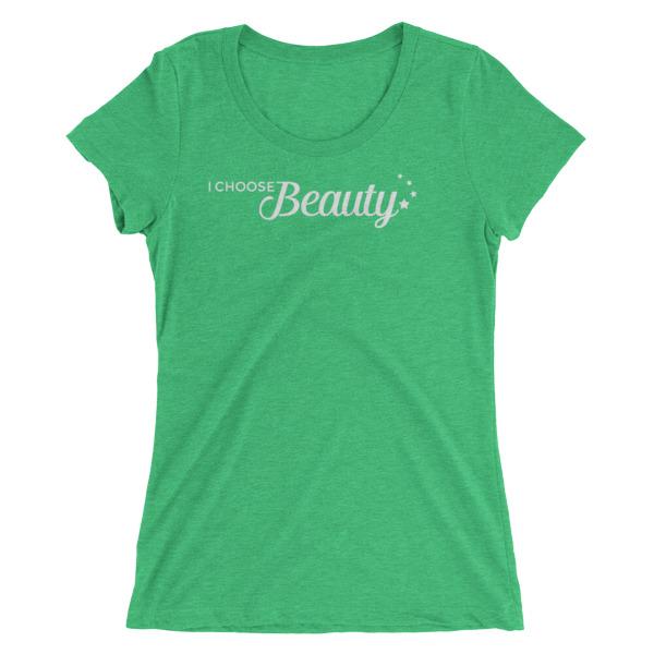 I Choose Beauty logo – Women's Tee