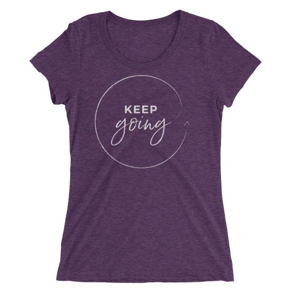 Keep going – Women's Tee