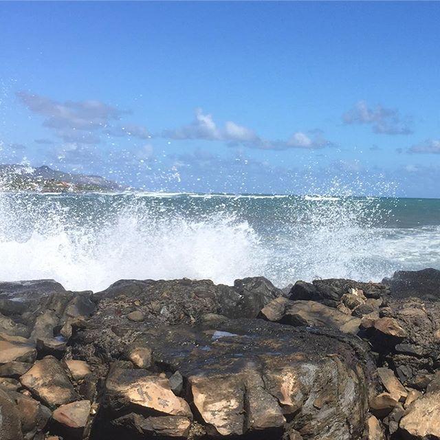 The sound of crashing waves  #IChooseBeauty Day 1415