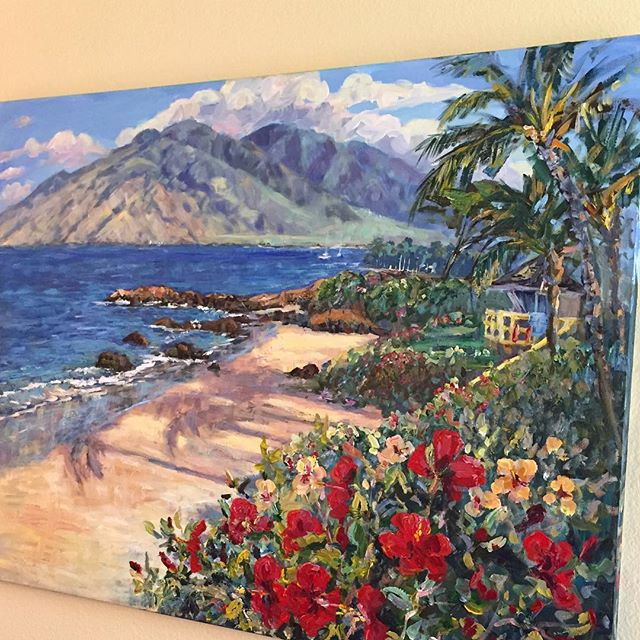 This painting is even prettier in person.  #IChooseBeauty Day 1444