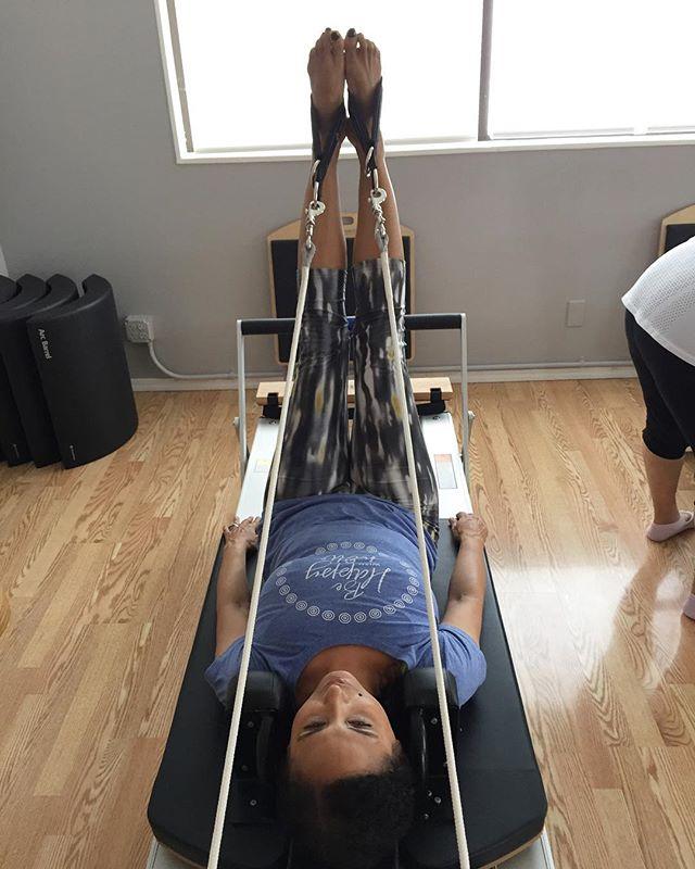 Getting my Pilates on. @fluidmotionmaui #IChooseBeauty Day 1448