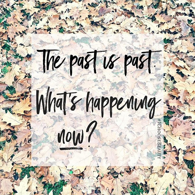 "If you have a hard time letting go of hurt, this is for you. It's definitely one for me. I literally have to say to myself ""Sahar STOP"" when I catch myself going down that rabbit hole..Move on. The past is past. Stop dwelling on it so you don't miss out on what's happening now. #mondaymotivation #IChooseBeauty"