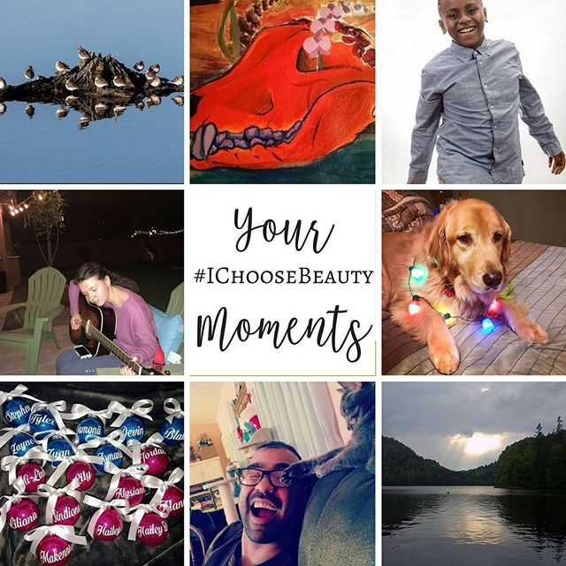 I love seeing YOUR #IChooseBeauty moments every single day! Thanks so much for sharing them! Here are just a few of your pics from December. #somuchbeautyintheworld