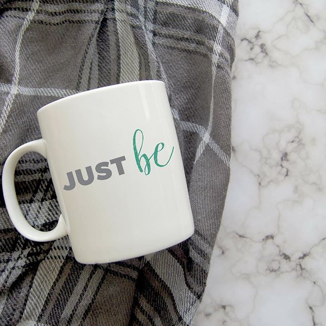 Just be... here in the moment, not judging, not evaluating. Just be. Link to shop in bio. 5% of net proceeds goes to Mental Health America. #IChooseBeauty