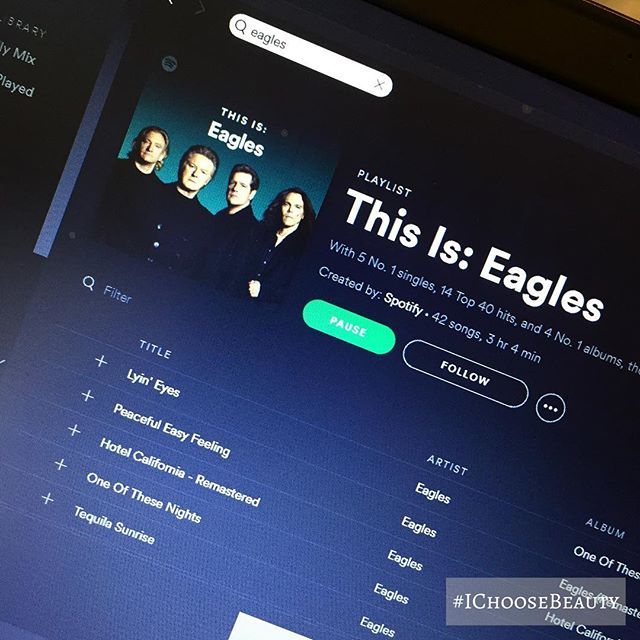 It's an Eagles kind of day. #IChooseBeauty Day 1530