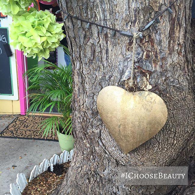 Heart tree art. #IChooseBeauty Day 1553