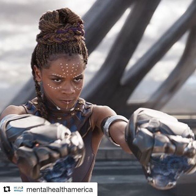 "#MentalHealthMonday : Thank you, Letitia Wright, for speaking out about mental illness. ️.#Repost @mentalhealthamerica with @get_repost・・・Letitia Wright, who plays technological genius Princess Shuri in #BlackPanther, opened up about her experience with #depression in an interview earlier this month, specifically touching on the #stigma that surrounds #mentalillness in the wider Black community, even beyond America.⠀⠀""In the Black community, it's something that happens, but we don't speak about it. We have to continue to talk about it and bring it straight to the forefront. And [that doesn't only apply to] the Black community, but different races as well.""⠀⠀""I speak boldly about [depression] because I struggled with it and I tried to find different ways [to heal], and it just didn't work. I had to look deeper to find what could hold me, and I found that what held me together was my relationship with Jesus and my relationship with God.""⠀⠀""Even to this day, I'll be at events and people will pull me to the side and tell me that they deal with the [situations] that I've dealt with. And I'm grateful because I want people to find a way out.""⠀"