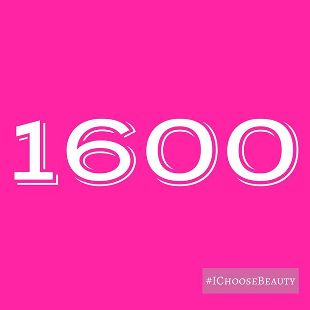 Day 1600 of my #IChooseBeauty journey!!! 1600 days of posting a picture of beauty every day here on @Instagram. Thanks to all of you for your support throughout this project..In case you don't know the story... It all started as a challenge to myself in November 2013 to keep from slipping back into a deep depression I had been struggling with for a few years. It turned into my life preserver. And when I realized what a difference it made on my mood, I just kept going..There have been plenty of tough days when nothing seemed beautiful but I forced myself to find something. Those are the days it helps the most..Some of you have joined me with your own #IChooseBeauty pics, and I love seeing them every day. I hope the images and words have helped you as much as they've helped me. xxxooo #IChooseBeauty Day 1600