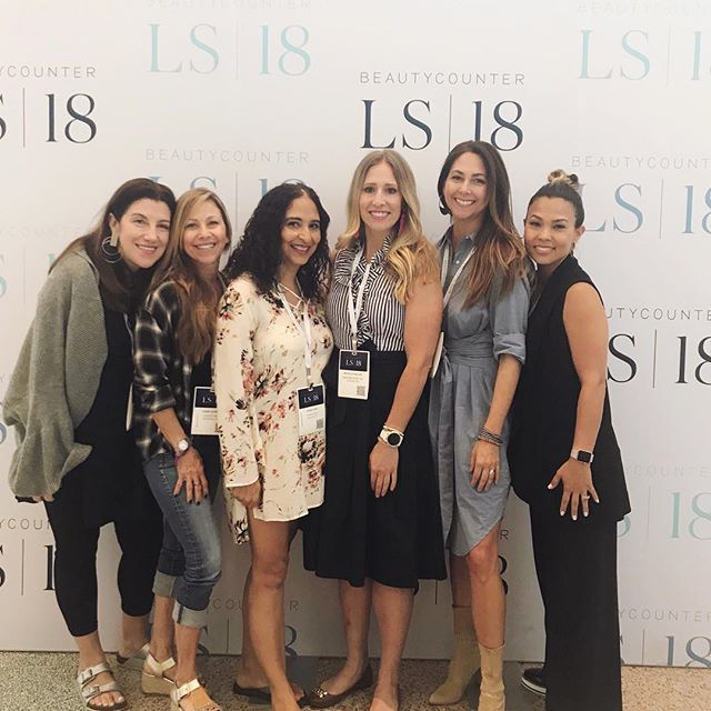 Thank you @beautycounter for an amazing conference and for bringing these women into my life. We've got a lot of work to do, but we're so ready!#saferbeauty #beautycountersummit #IChooseBeauty Day 1627