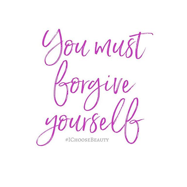 "#MentalHealthMonday: Is it easier for you to forgive others than it is to forgive yourself? I really struggled with this - I beat myself up on the regular. But how fair is that? Resentment is self-destructive. You must truly forgive yourself to be able to let go and move forward. #MondayMotivation #IChooseBeauty.If you haven't been feeling like yourself lately, a mental health screening can help you find out if you have symptoms of a mental health condition. My partner @mentalhealthamerica offers these screenings on its website - just go to the link in my bio and click on ""Mental Health America."" And remember, mental health conditions like depression and anxiety are real, common, and treatable. You are not alone.️"