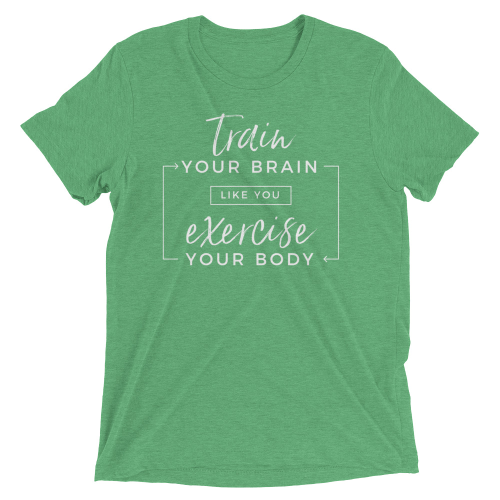 Train your brain – Unisex Tee