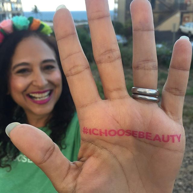 You guys! This month marks the 5-year anniversary of #ICHOOSEBEAUTY! November 21 is the actual day, but I thought it would be fun to celebrate all month long with you, my amazing community! I've got lots of exciting news to announce (stay tuned)... and some fun GIVEAWAYS planned! Because I've learned that we must always celebrate and savor the good times in life!.WEEKLY GIVEAWAYS: Notice the fun #ICHOOSEBEAUTY temporary tattoo on my palm in the pic? I'll be giving away a set of two to 10 people every week for the next three weeks. 10 sets each week! 30 sets total! Just 2 steps to enter to win:.1. Comment below with an emoji so I know you're in! .2. Be one of the first 10 people this week to post a photo using #ICHOOSEBEAUTY .That's it! Oh, and this is open to ALL of you, wherever you live. I'll send the #ICHOOSEBEAUTY tatts to you in the U.S., Canada, and Europe! .GRAND PRIZE GIVEAWAY: I'm also giving away a feel-good package valued at $67 (see Stories later today)! The winner gets a tee or tank of your choice from my Shop, a tin of Crown Aloha (my favorite dairy-free dark chocolate from Hawaii), and a 1-ounce Beautycounter charcoal facial mask (my favorite safer beauty brand). I'll do a drawing from all the entries for the weekly giveaways, and announce the winner at the end of November! Woop woop!.Let me know if you have any questions! I can't wait to see your moments of beauty in the #ICHOOSEBEAUTY feed!! 🐿️🌤️☂️🎟️..........#mentalwellness #mentalhealthawareness #mentalhealthmatters #mentalhealthsupport #depressionrecovery #mentalhealthadvocate #mentalhealthblog #mentalhealthblogger #mentalhealthrecovery #mentalhealthadvocate #mentalhealthwarrior #inspirationoftheday #inspirationdaily #inspirationalpost #inspirationalwords #mantras #dailygratitude #alwaysbegrateful #begratefuleveryday