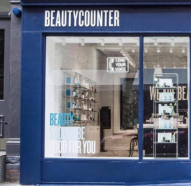 So excited to tell you guys that Beautycounter just opened a store in NYC in SoHo!! If you go, tell them I sent you! Proud and happy to be working for a company try making a difference for our health! ️️️ #betterbeauty #cleanbeauty #ichoosebeauty Day 1826