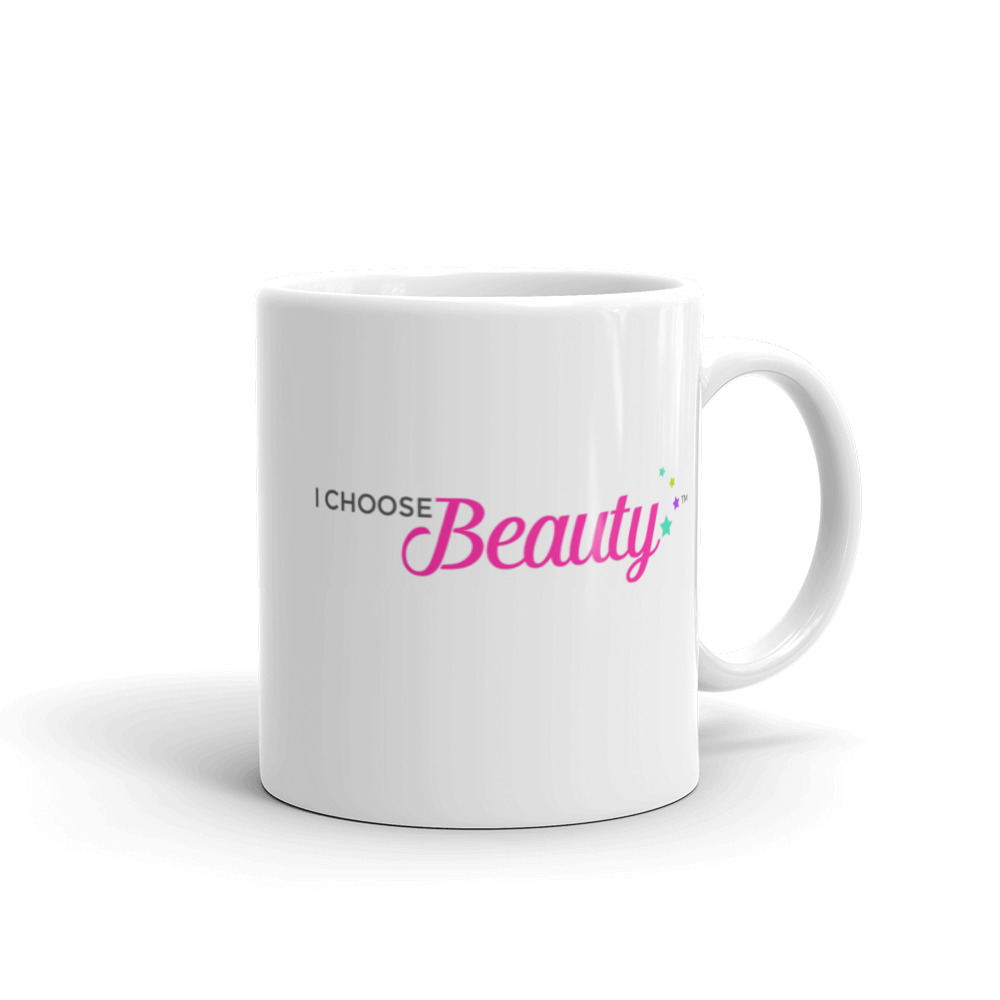 I Choose Beauty logo – Mug