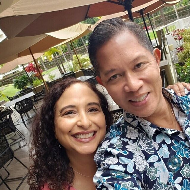 The perfect start to February - lunch with the amazing and handsome @randymaui !!! #lovehim️ #mademyday #ichoosebeauty Day 1899
