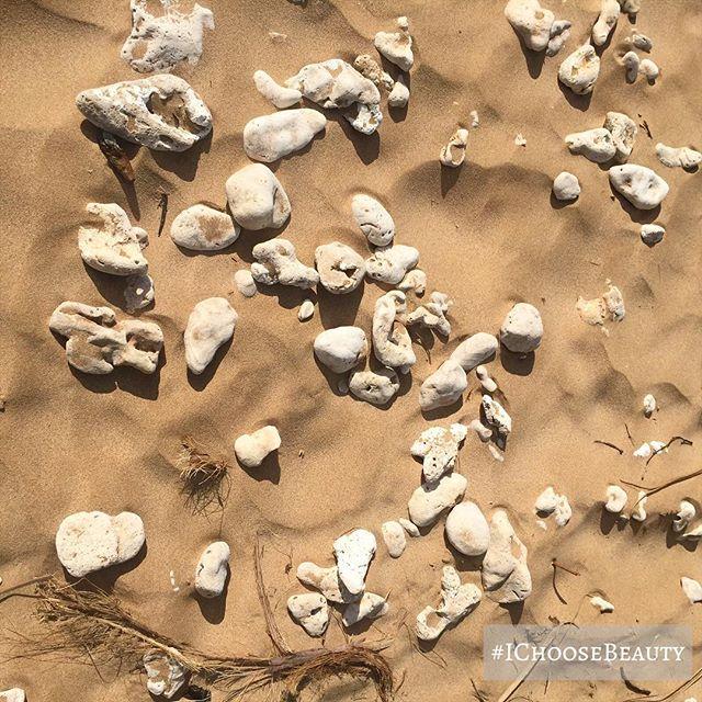 Beach art. #naturesart #unexpectedbreak #justwhatineeded #ichoosebeauty Day 1925
