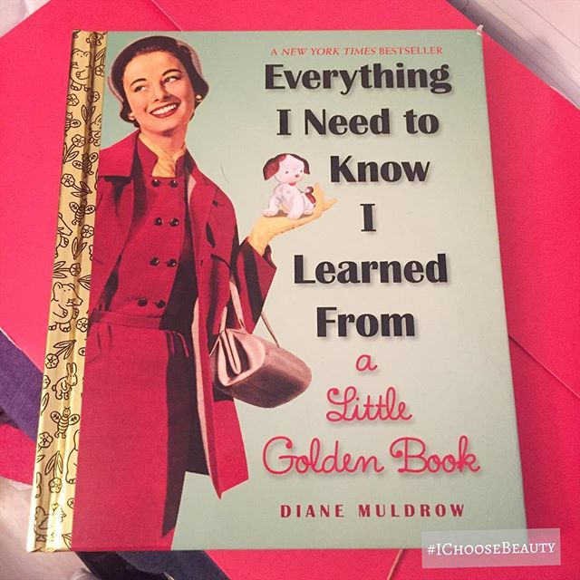 So much good life advice in this Little Golden Book. 🥰 It's one of the few books I brought with me when we moved here from the mainland. #ichoosebeauty Day 1960