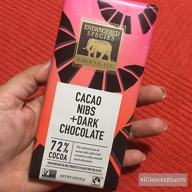 I've become an expert at trying dairy-free dark chocolate.  #roughjobbutsomeonehastodoit #ichoosebeauty Day 2010