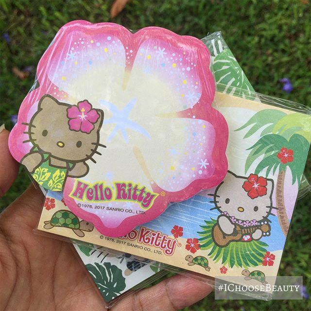 Hello Kitty Hawaii sticky notes haul!  #thecutest #hellokittylover #ichoosebeauty Day 2009