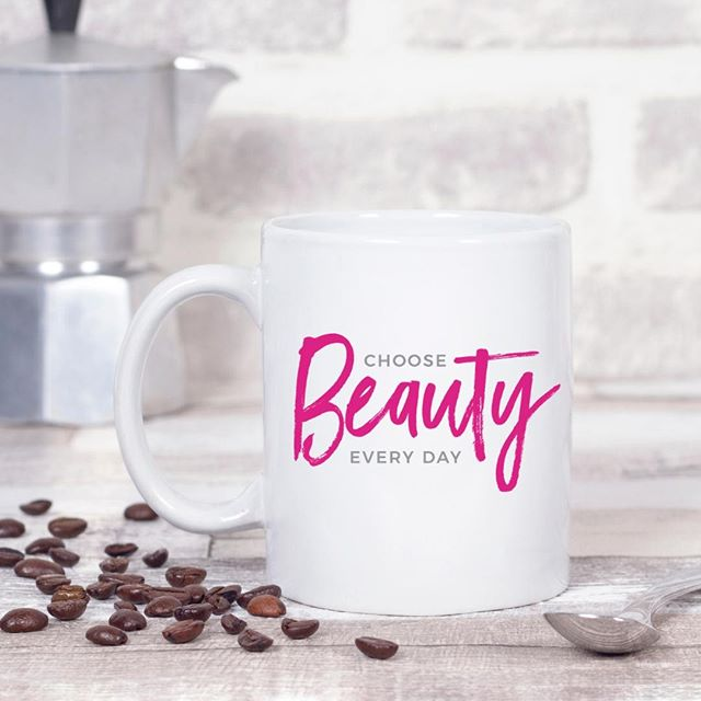 Take a moment to find beauty in something... anything... every day. It'll change how you see the world, and in turn, help you feel more content.⠀.⠀Link in bio to shop. 5% of net proceeds goes to @mentalhealthamerica. #ichoosebeauty⠀.⠀.⠀.⠀.⠀.⠀.⠀.⠀.⠀.⠀.⠀#mugs #mugshot #coffeemug #coffeemugs #mugsofinstagram #inspirationalwords #inspirationalthoughts #inspirationalquotesandsayings #inspirationalmessage #wordsofwisdom #wordstoliveby #wordswag #liveinspired #mantras #womeninbiz #womenentrepreneurs #smallbusinesslove #giftideasforher #giftideasforwomen #giftsforfriends #perfectgifts #mentalwellness #mentalhealthawareness #mentalhealthmatters #mentalhealthsupport #mentalhealthrecovery #mentalhealthadvocate⠀⠀