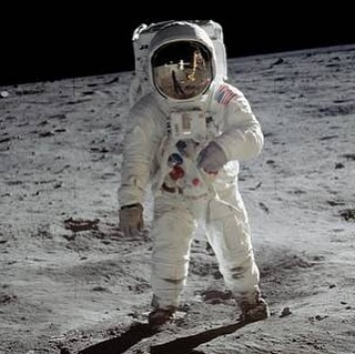 """""""That's one small step for man, one giant leap for mankind."""" Happy 50th Anniversary, Apollo 11!!! What an incredible moment in time. #ichoosebeauty Day 2068"""