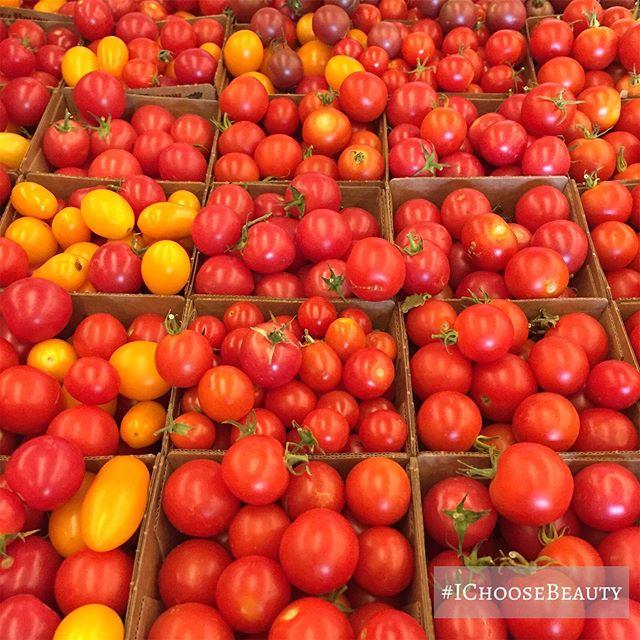 Tiny tomato heaven. #ichoosebeauty Day 2078