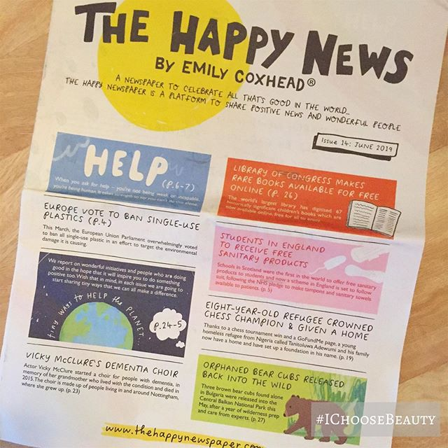 I love that this exists. ️🦄@thehappynewspaper #ichoosebeauty Day 2072