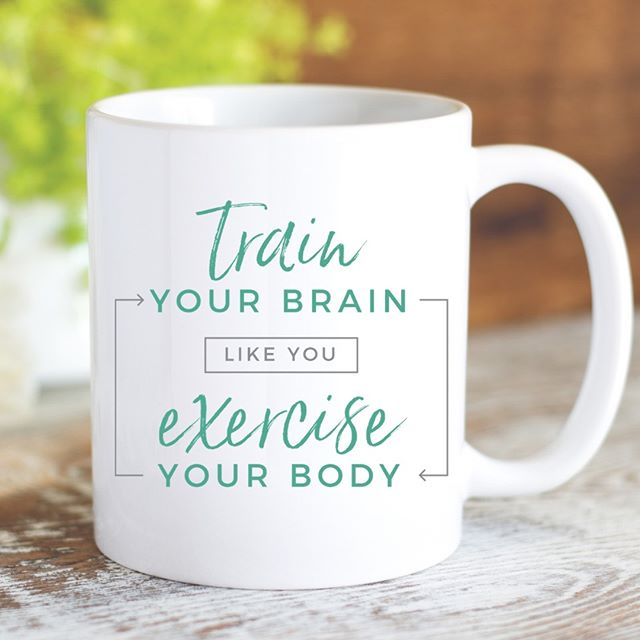 You wouldn't stop working out, become sedentary, and expect to magically stay in shape, would you? Same goes for your mind. Both your body and your brain need consistent exercise to be healthy.⁣⁠⁣⁠All our mugs are created using the healing power of words, and come in two sizes - 11 oz. and 15 oz.⁣⁠⁣⁠5% of net proceeds goes to @mentalhealthamerica. Link to shop is in my bio.⁣⁠⁣⁠⁣⁠⁣⁠⁣⁠⁣⁠⁣⁠⁣⁠⁣⁠#ichoosebeauty #mugs #mugshot #coffeemug #coffeemugs #mugsofinstagram #trainyourbrain #retrainyourbrain #inspirationalwords #inspirationalthoughts  #inspirationalmessage #wordsofwisdom #wordstoliveby #wordswag #wordstoremember #wordstoinspire #thoughtsinwords #wordsoflife #wordsofinspiration #liveinspired #giftsforfriends #perfectgifts #mentalwellness #mentalhealthawareness #mentalhealthmatters #mentalhealthsupport #mentalhealthrecovery #mentalhealthadvocate