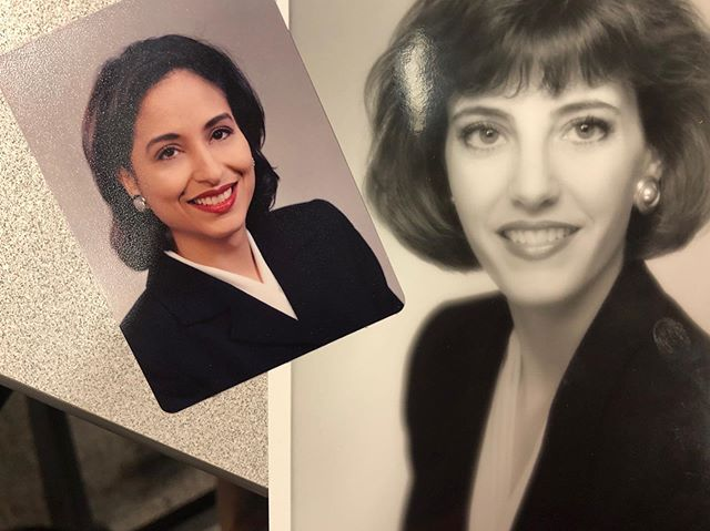 #tbthursday to this gem that my BFF @newsdeb sent me this week!  Our TV pics from the mid-1990s when we were babies working at @kake.news ️️ Thanks for this blast from the past, SUGAR!  #ichoosebeauty Day 2143