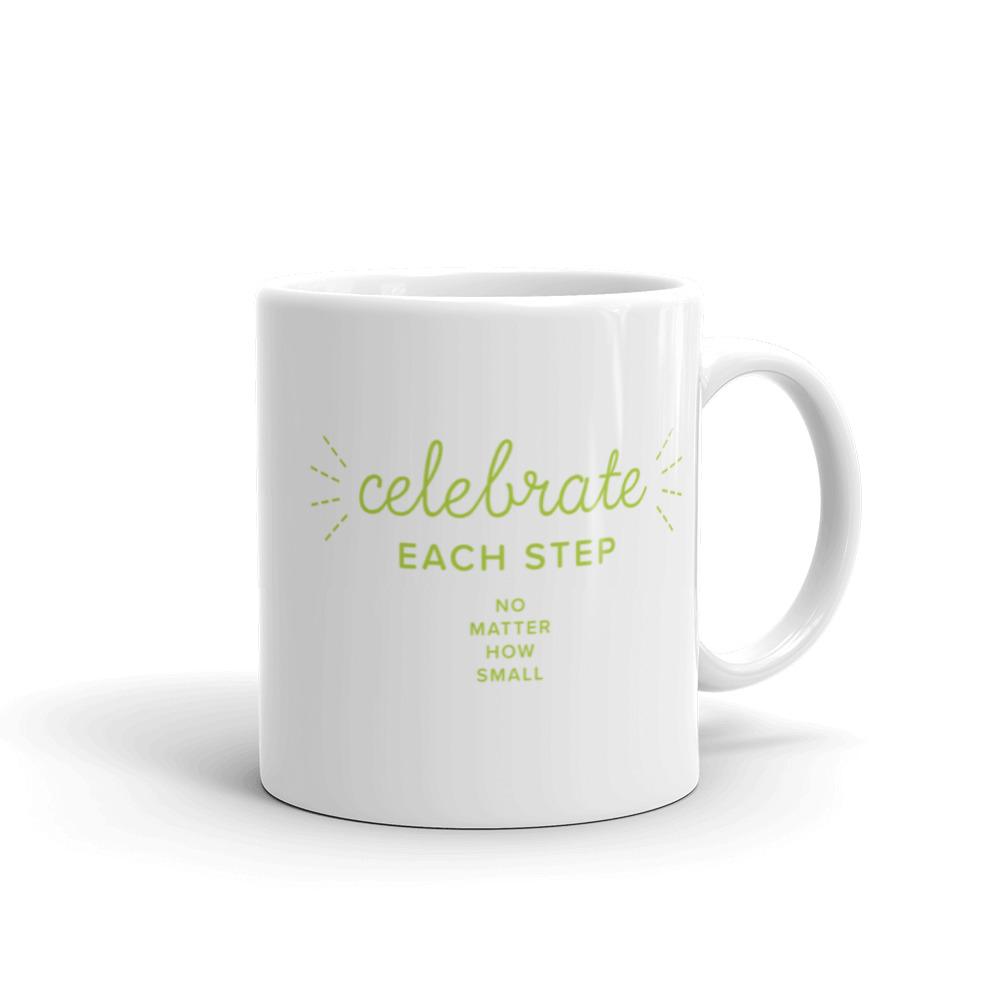Celebrate each step, no matter how small – Mug