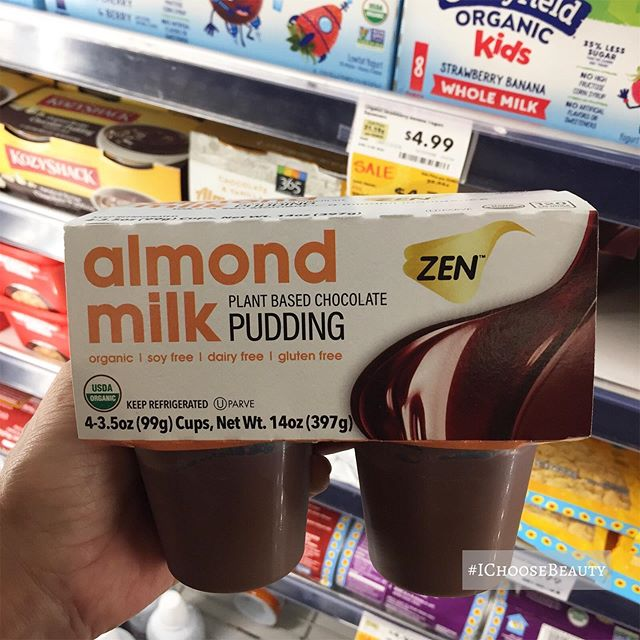 Dear almond milk, thank you for existing so that this dairy-allergic girl 🏽‍♀️ doesn't feel like she's missing out. Except on cheese. Please work on that. Thank you.    #ichoosebeauty Day 2261