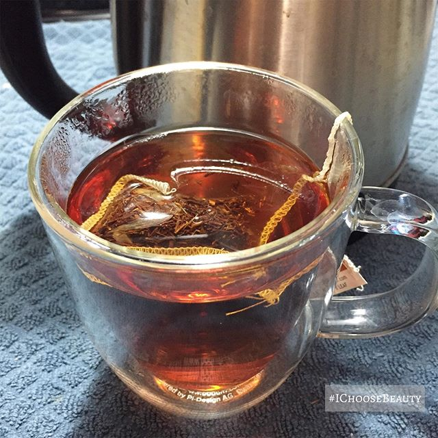 I'm a huge herbal tea lover, and can't get enough lately! This is another favorite - rooibos.  #ichoosebeauty Day 2273