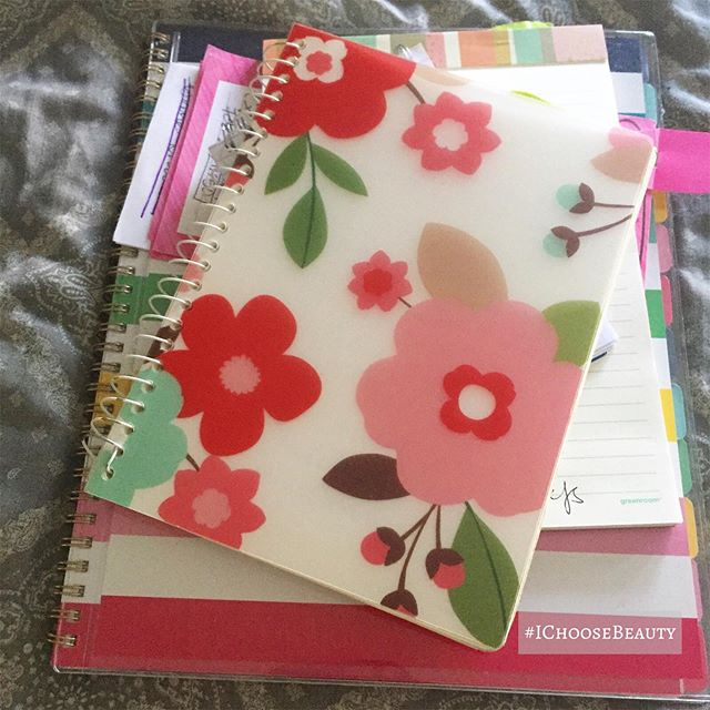 It was a day of all things planners, notepads, and journals. #ichoosebeauty Day 2280
